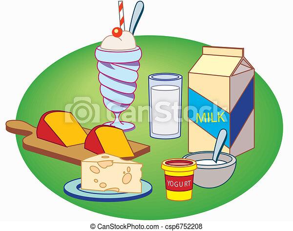 Milk products - csp6752208