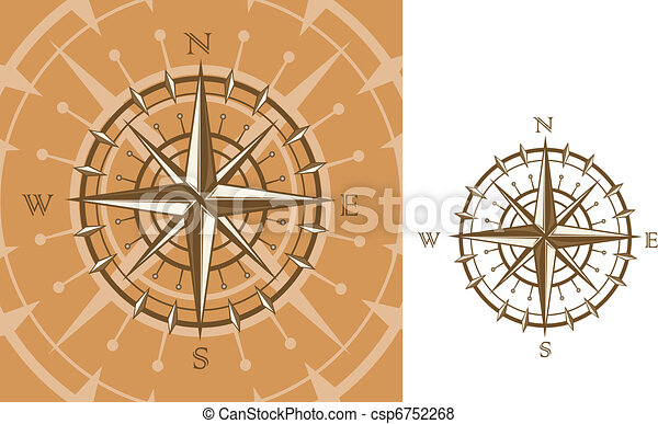Medieval compass - csp6752268