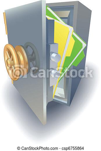 Data protection concept - csp6755864