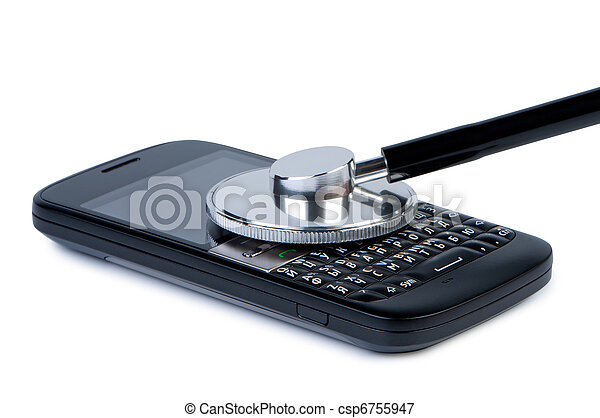 bilder von beweglich telefon mit stethoskop begriff von diagnose csp6755947 suchen. Black Bedroom Furniture Sets. Home Design Ideas