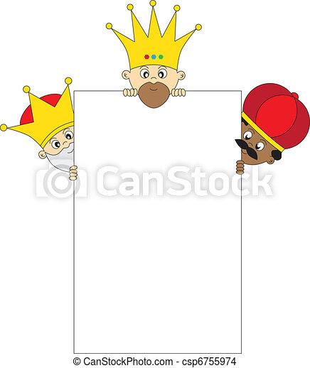Three Kings - csp6755974