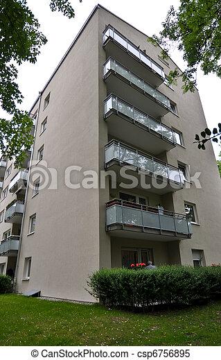 landmark. munich. germany - csp6756895