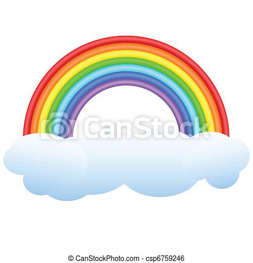 Rainbow. - csp6759246