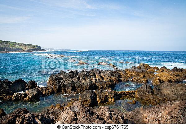 Coast of Tenerife daytime - csp6761765