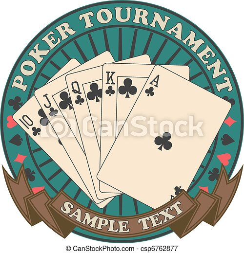 Poker tournament symbol - csp6762877