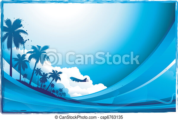 travel background - csp6763135