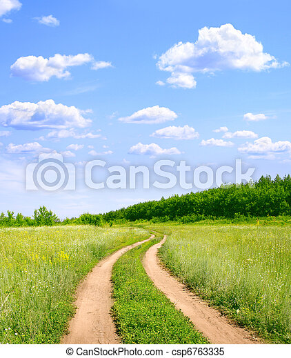 Rural landscape - csp6763335