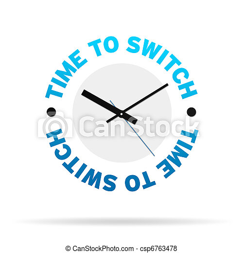 Time To Switch Clock - csp6763478