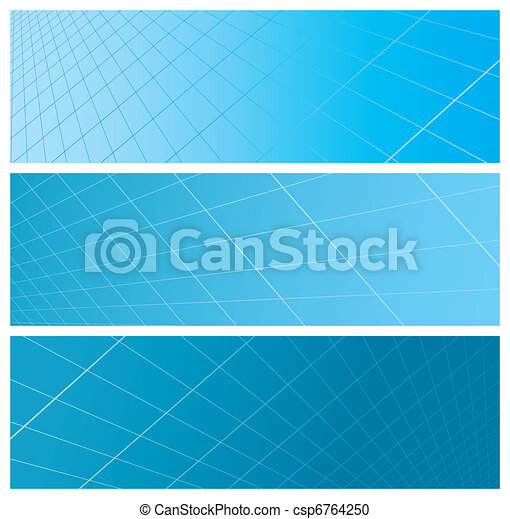 abstract grid banners - csp6764250