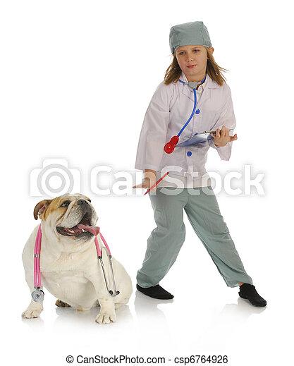 veterinary care - csp6764926