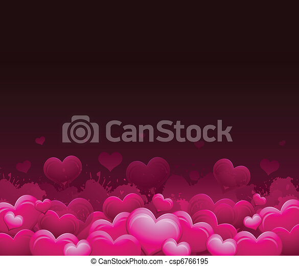 Valentine's day background - csp6766195