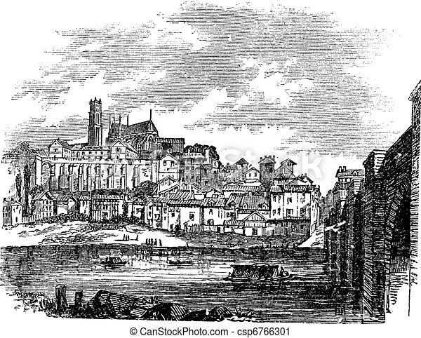 Old Buildings at Limoges