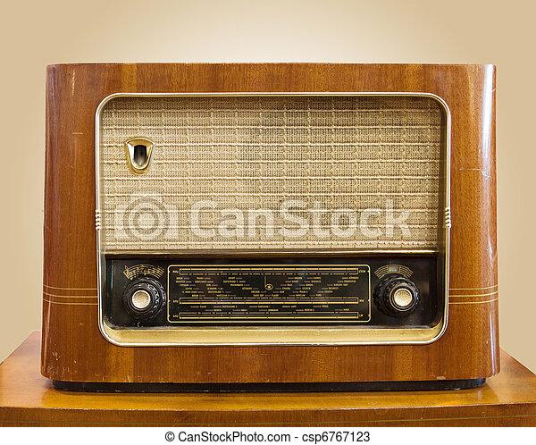 rádio,  retro - csp6767123