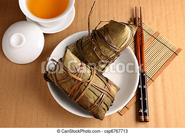 Rice dumpling for dragon boat festival - csp6767713