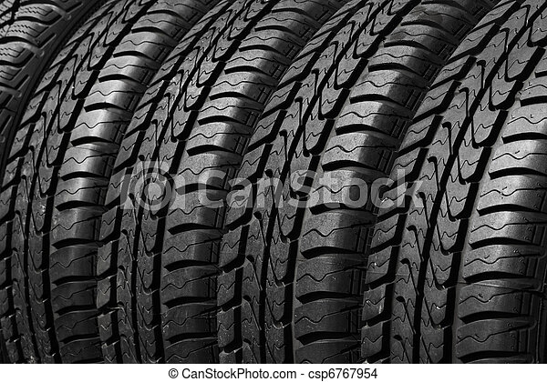 car tires - csp6767954