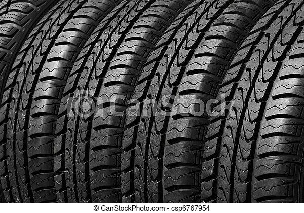 タイヤ, 自動車 - csp6767954
