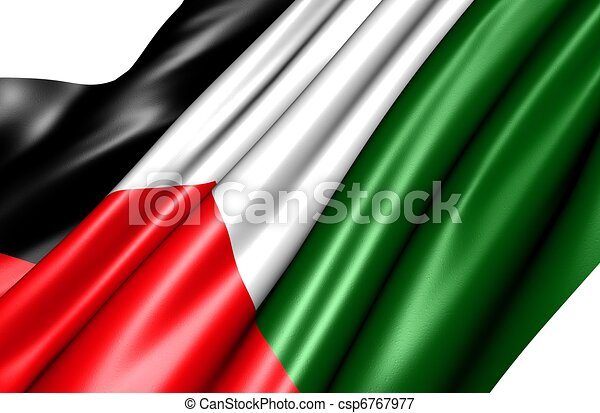 Flag of Palestine - csp6767977