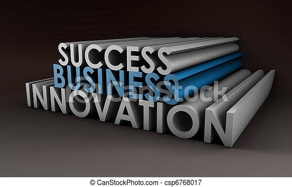 Business Innovation - csp6768017