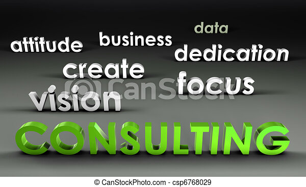 Consulting at the Forefront - csp6768029