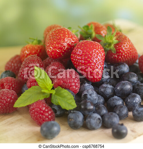 Summer Fruits - csp6768754
