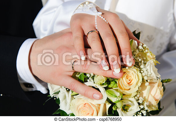 Wedding Hands - csp6768950