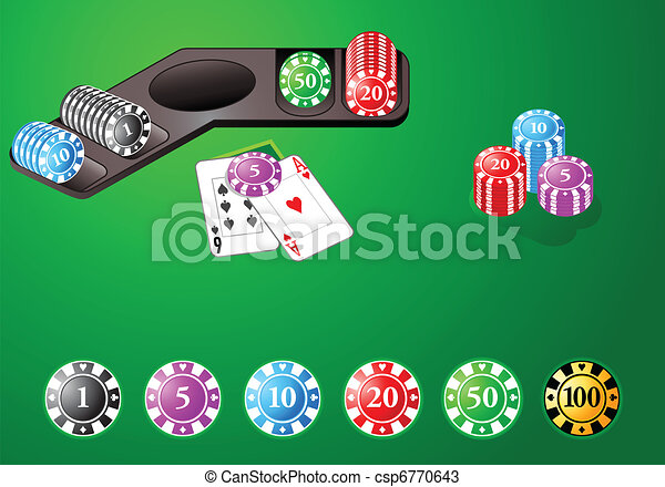 Casino design chips - csp6770643