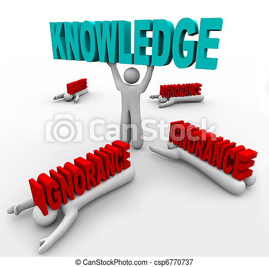 Knowledge Triumphs Over Ignorance - Learn to Grow and Win - csp6770737