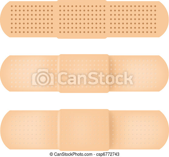 Vectors of Vector-Band-aid - 100% Adobe Illustrator photo ...