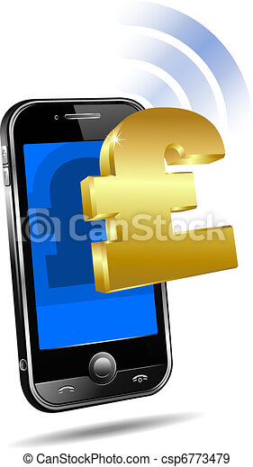 Pay by Mobile Cell Smart Phone  - csp6773479