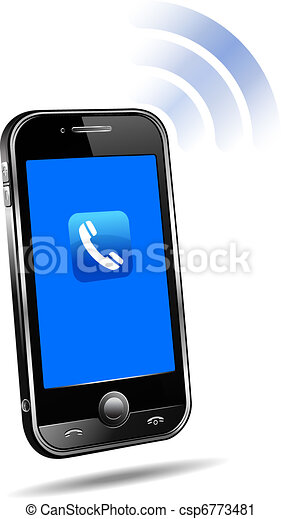 Mobile phone connection technology - csp6773481