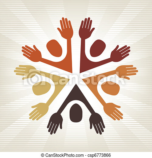 Colorful people vector.  - csp6773866