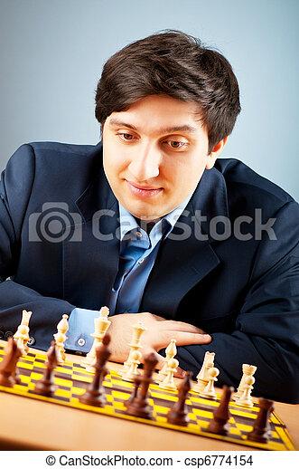 FIDE Grand Master Vugar Gashimov (World Rank - 12) from Azerbaijan - csp6774154