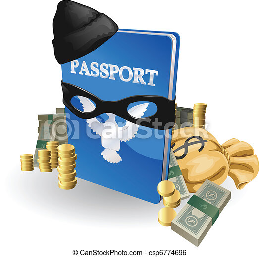 Identity theft concept - csp6774696