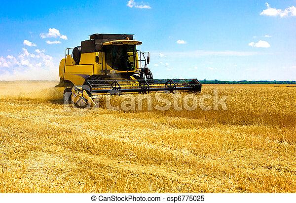 combine harvester - csp6775025
