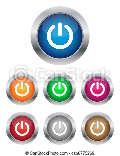 Power buttons - csp6775269