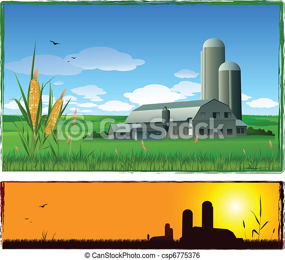 farm background - csp6775376