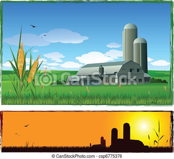 farm background - csp6775376