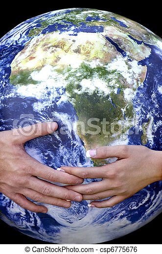 Hands and Earth
