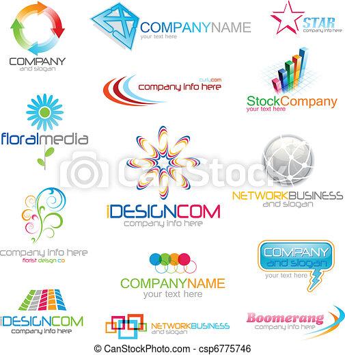 Corporate logo icons - csp6775746