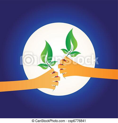 Share Green - csp6776841