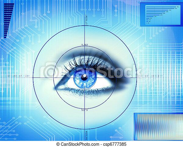 eye technology - csp6777385