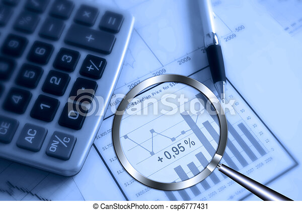 searching profit - csp6777431