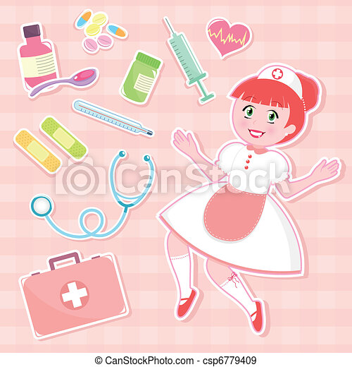 nurse set - csp6779409