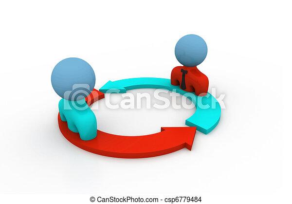 Team communication - csp6779484
