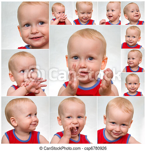 funny face baby - csp6780926