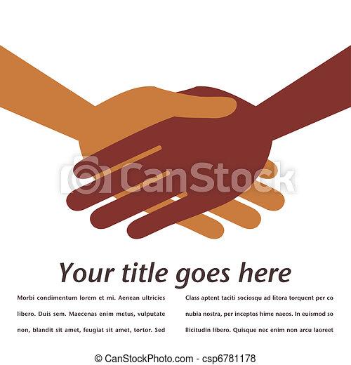 Handshake symmetry.  - csp6781178
