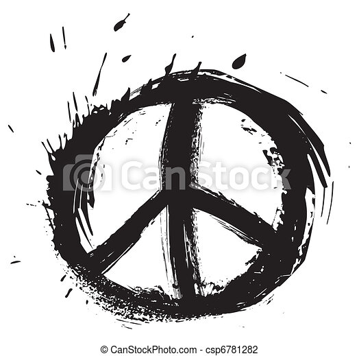 Peace symbol  - csp6781282
