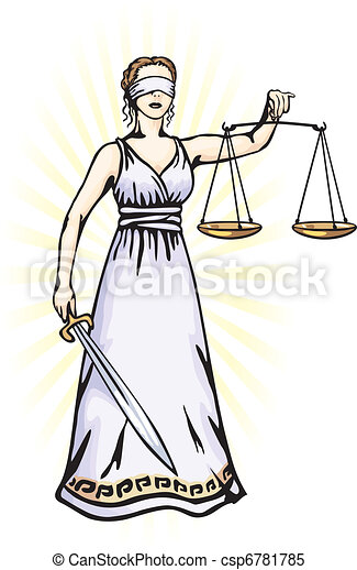 Themis - a goddess of justice - csp6781785