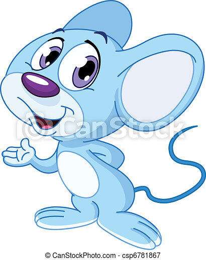 Cute mouse - csp6781867