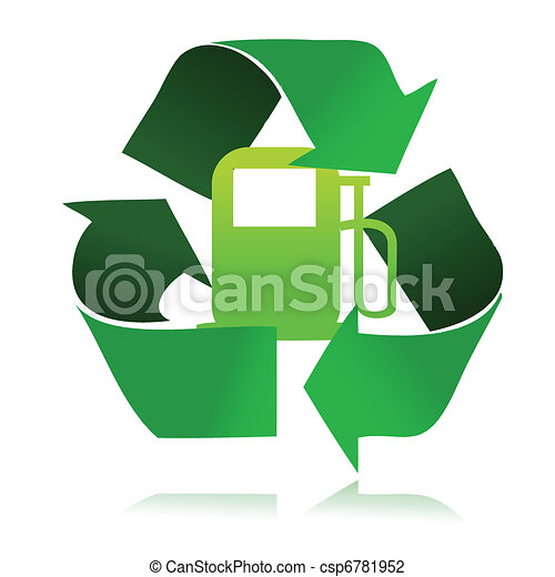 eco fuel recycle - csp6781952